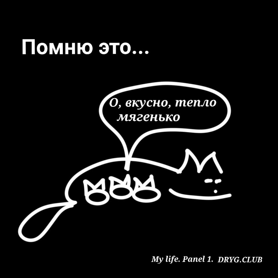 #комиксклубадруг Моя жизнь. Картинка 1.